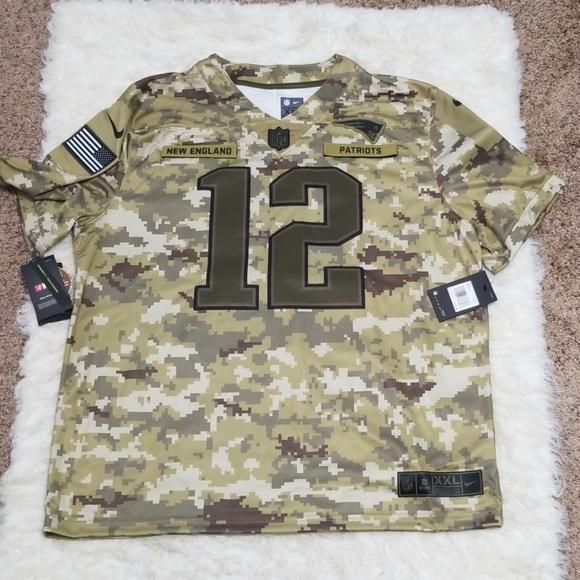 buy online ebf70 82b22 patriots military jersey